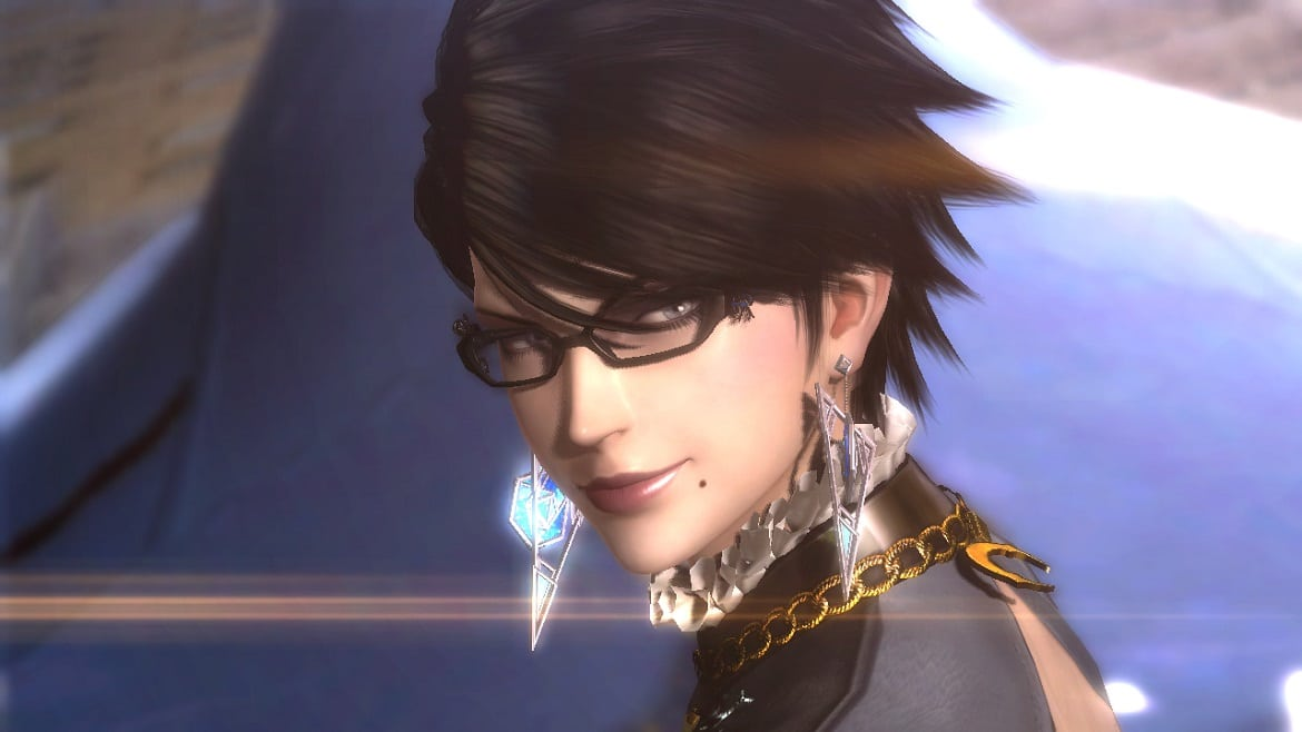 A picture of the Bayonetta character.
