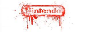 Nintendo logo bleeding affect